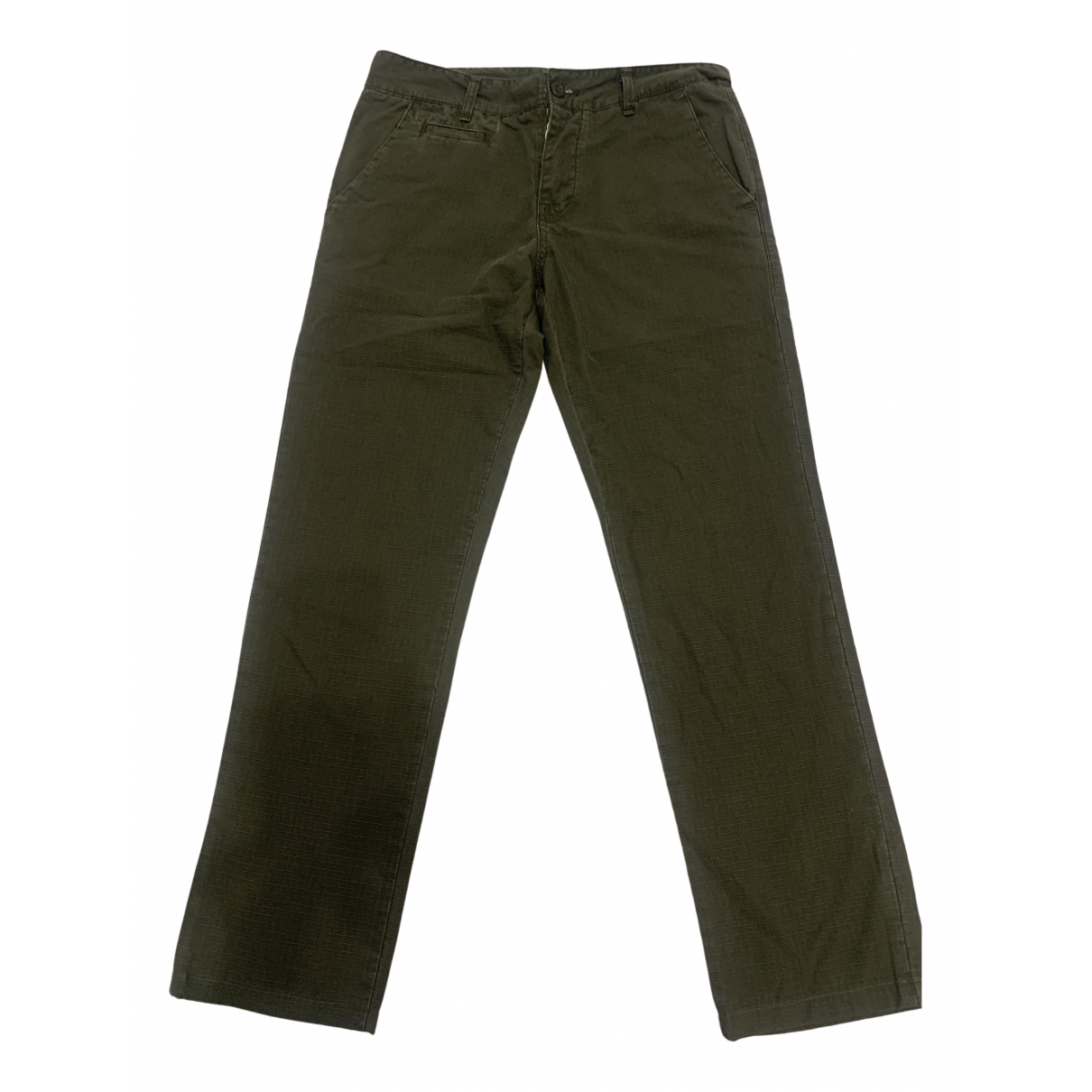 Carhartt \N Green Cotton Trousers for Men 32 UK - US