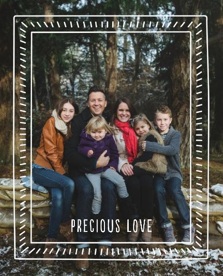 Love 8x10 Metal Easel Panels, Home Décor -Precious Love
