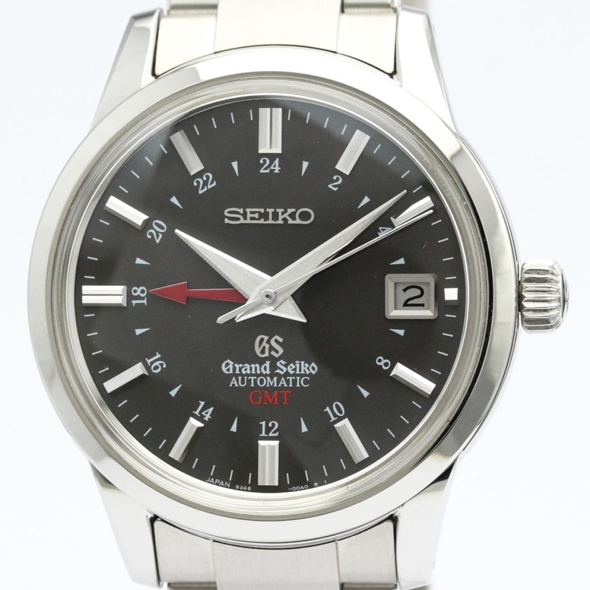 Seiko \N Grey Steel watch for Men \N