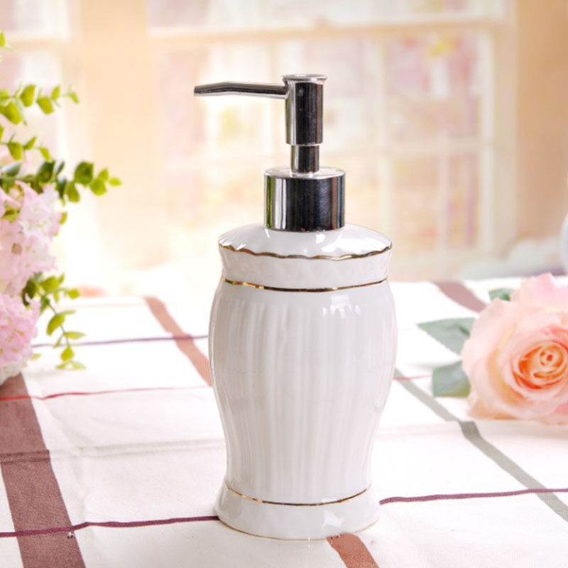 Ericdress Bathroom Accessories Soap Dispenser Cup Dish Toothbrush