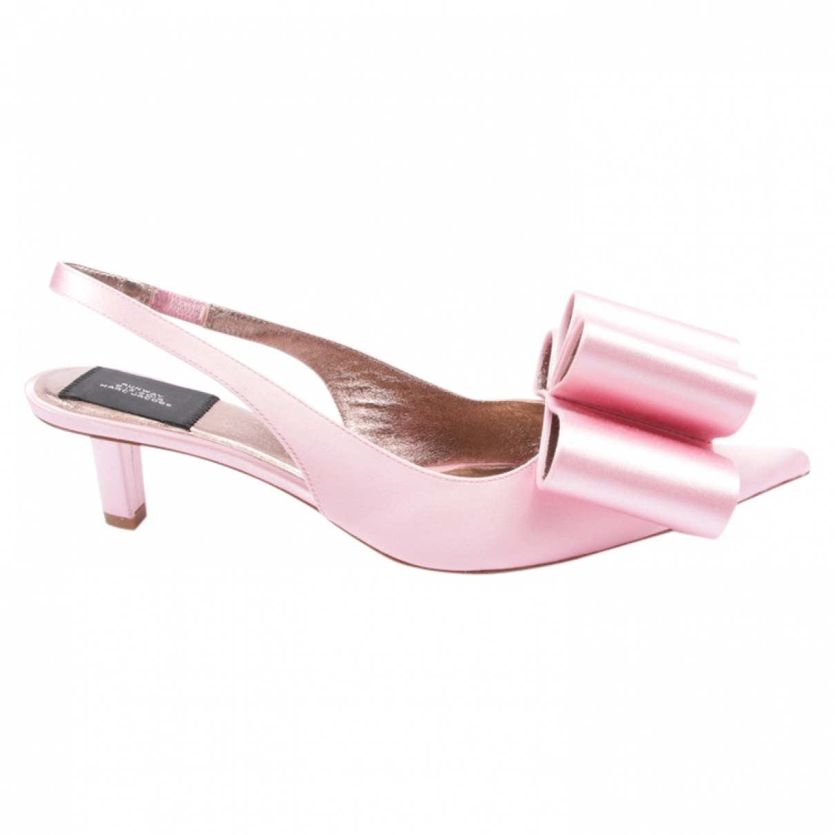 Marc Jacobs \N Pink Leather Heels for Women 40 EU