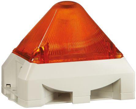 Pfannenberg PY X-MA-05 Sounder Beacon 100dB, Amber Xenon, 230 V ac