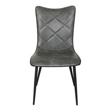 Josie Collection UU-1008-25 Dining Chair with Metal Legs in Gray