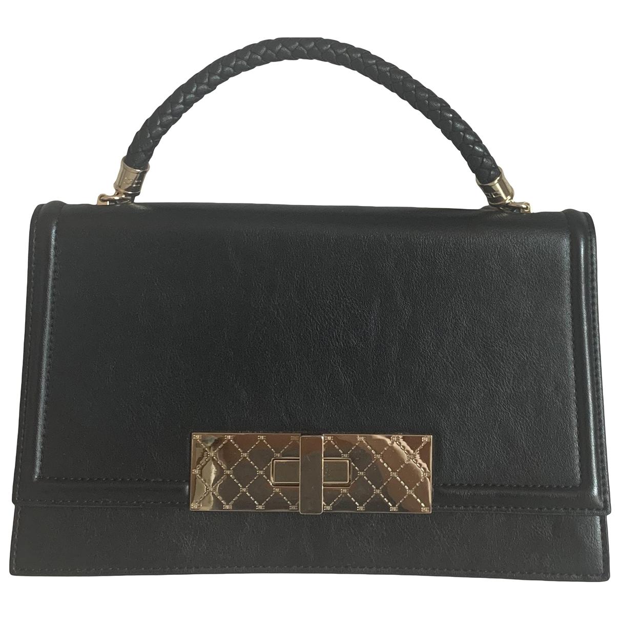 Elisabetta Franchi \N Black Leather handbag for Women \N