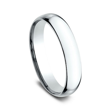 4MM 14K Gold Round Wedding Band, 10 1/2 , No Color Family