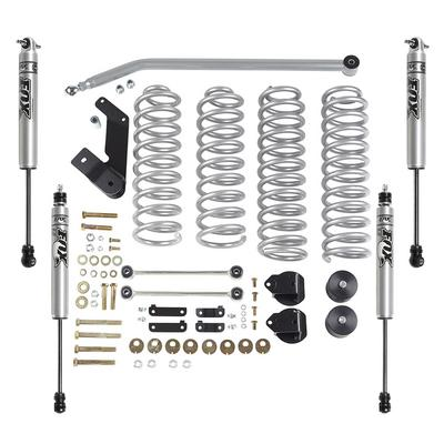 Rubicon Express 3.5 Inch Standard Coil Lift Kit with Fox Performance Shocks - RE7142FP