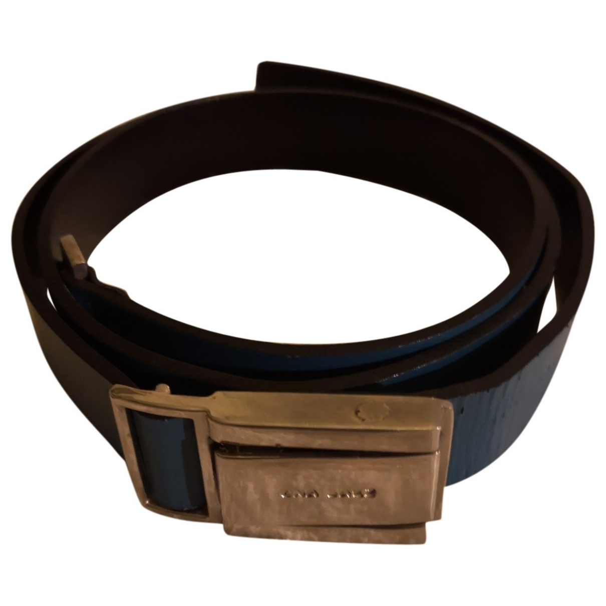 Non Signé / Unsigned \N Turquoise Leather belt for Women S International