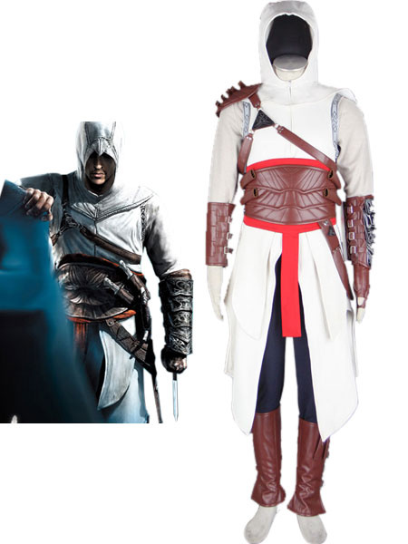 Milanoo Inspired By Assassin's Creed Altair Halloween Cosplay Costume
