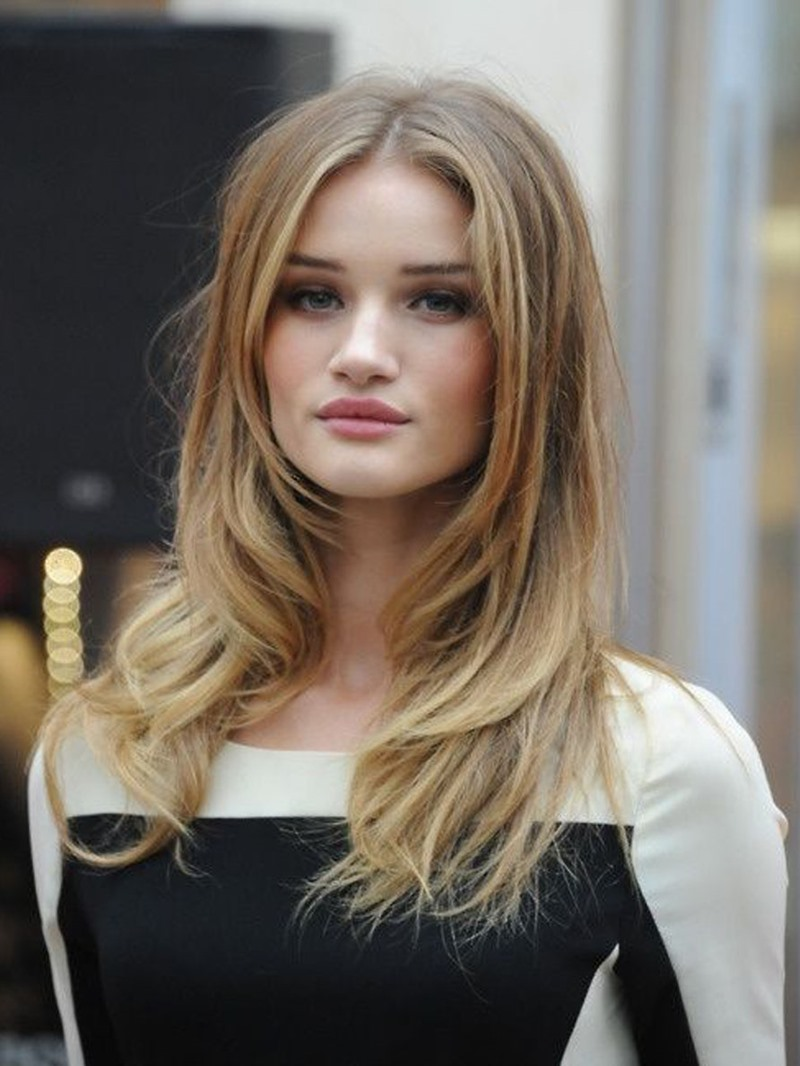 Ericdress Long Length Wavy Middle Parted Synthetic Hair Capless Wigs 24 Inches