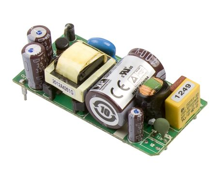XP Power , 15W AC-DC Converter, ±15V dc, Open Frame