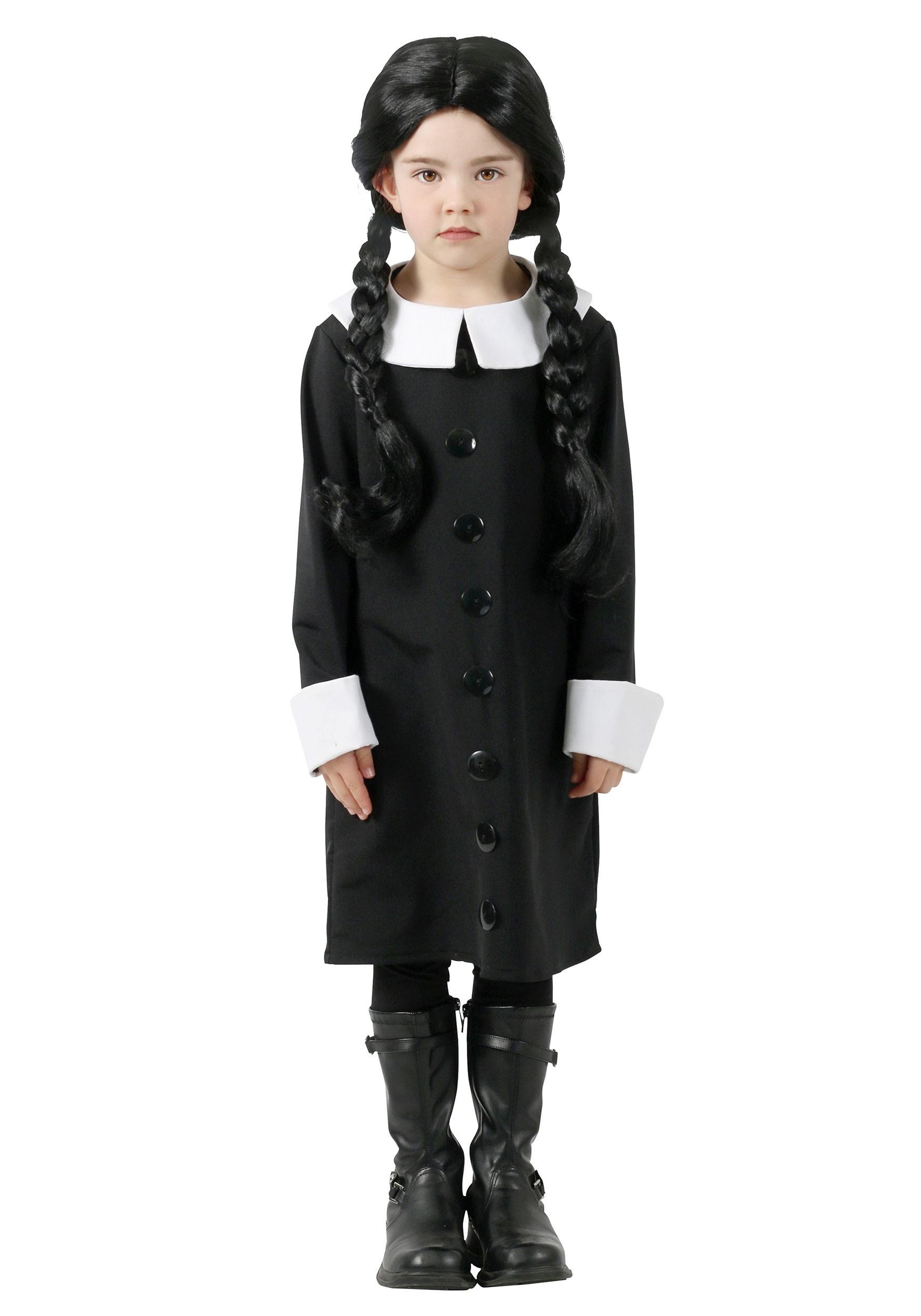 Wednesday Addams Addams Family Kid's Costume