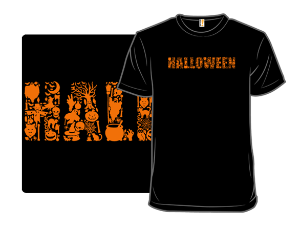 Halloween Symbols T Shirt