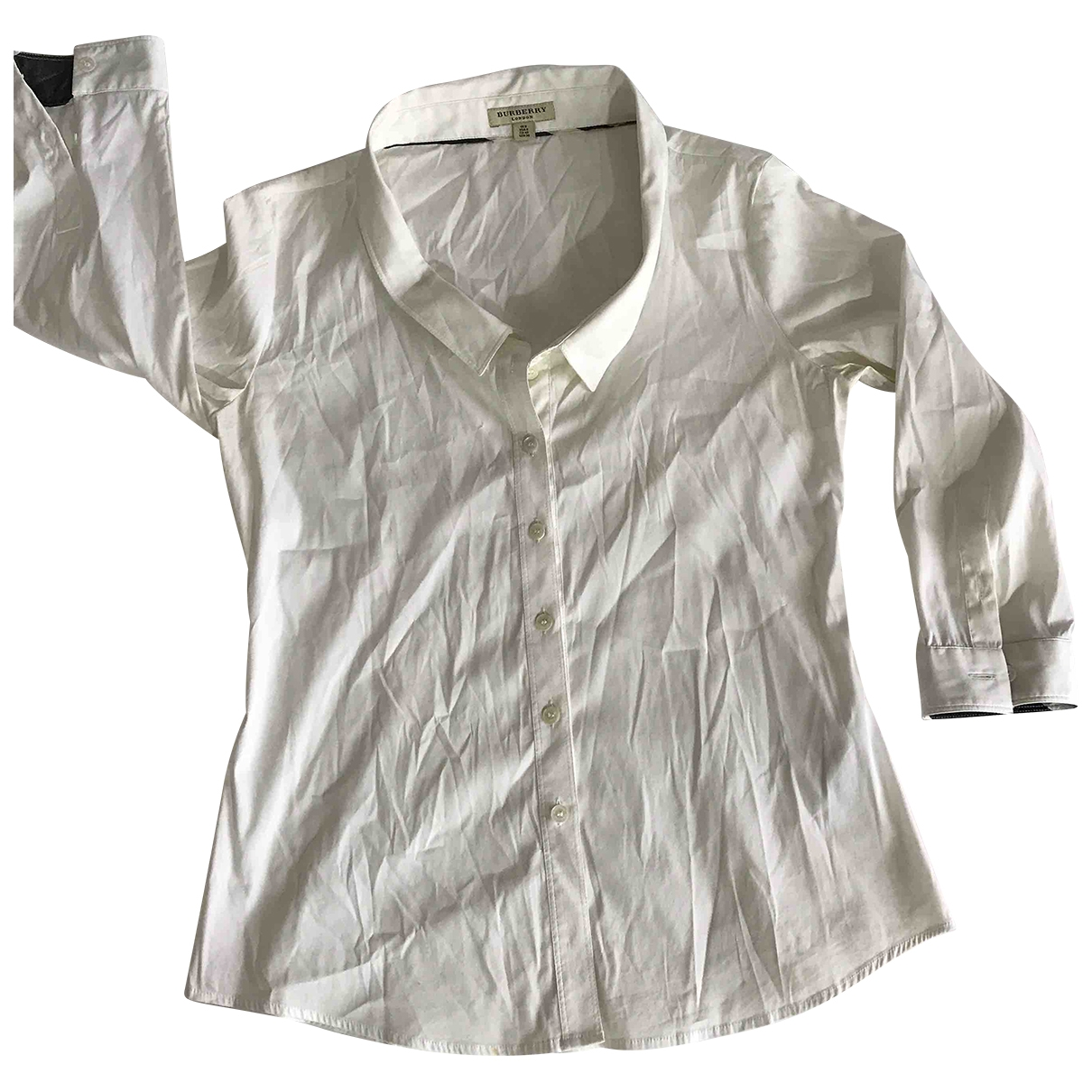 Burberry \N White Cotton  top for Women 8 UK