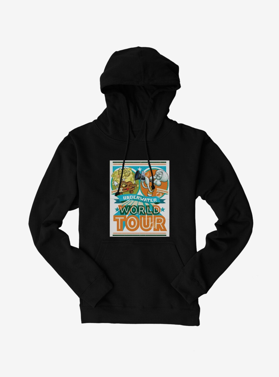 SpongeBob SquarePants Underwater World Tour Hoodie
