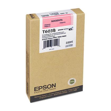 Epson T603B00 Original Magenta Ink Cartridge