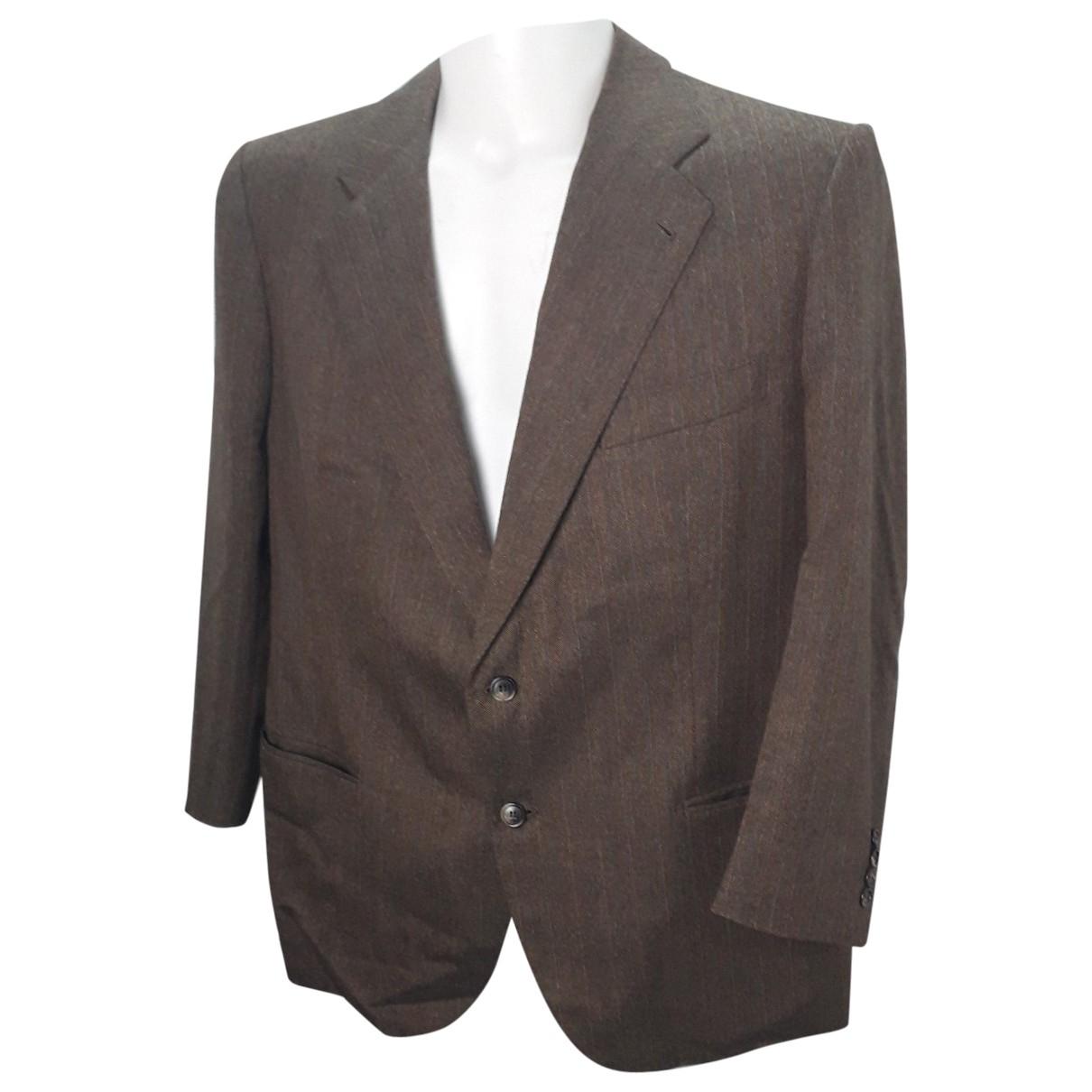 Loro Piana \N Brown Wool jacket  for Men L International
