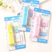1set Solid Electric Eraser