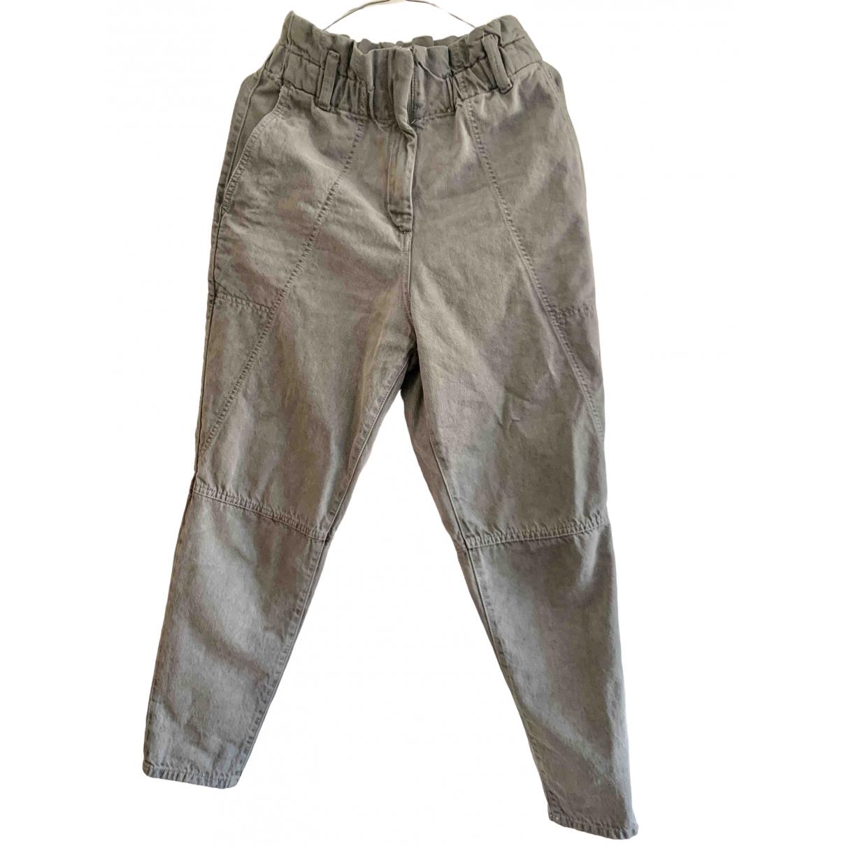 Iro Spring Summer 2020 Grey Denim - Jeans Trousers for Women 36 FR