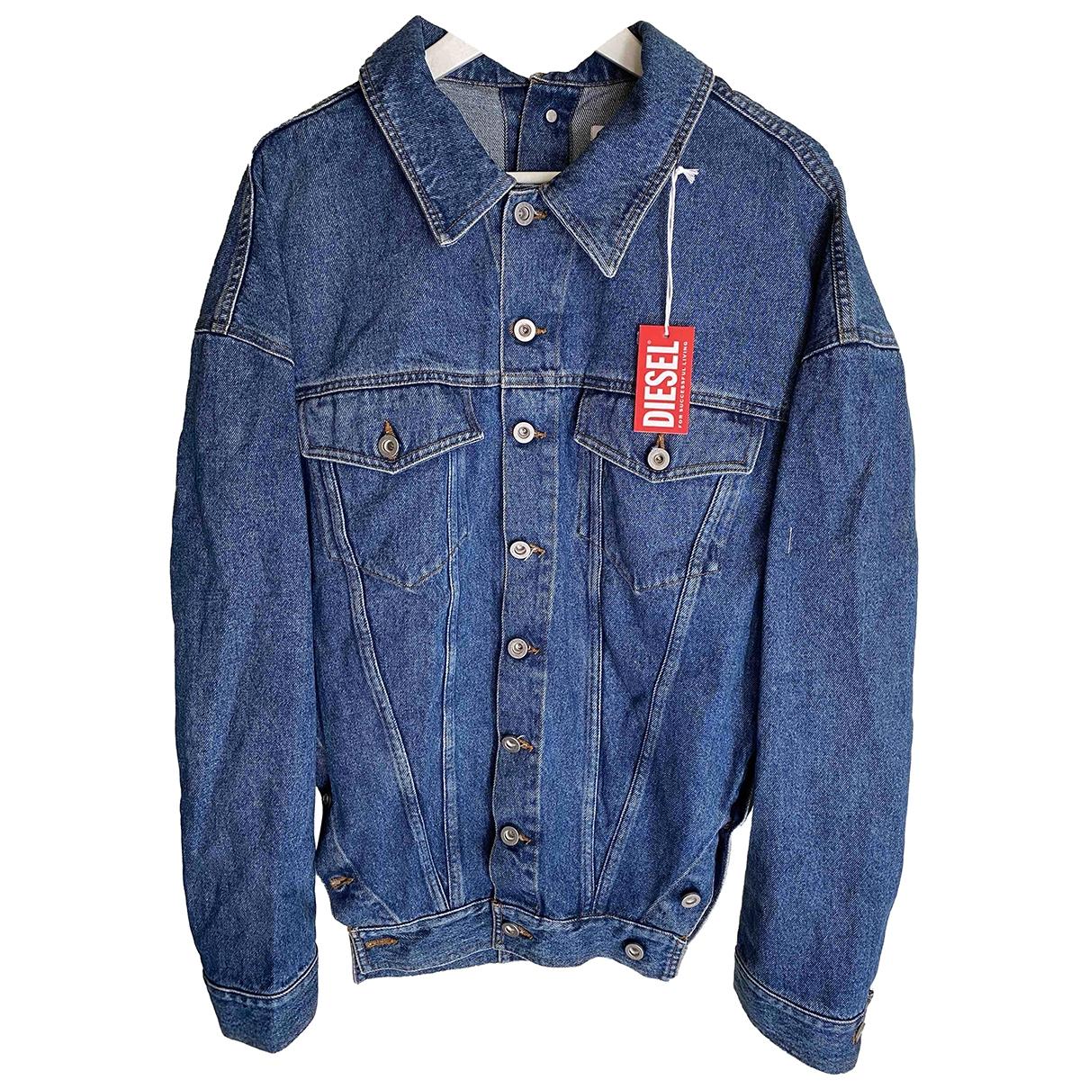 Diesel \N Blue Cotton jacket for Women S International