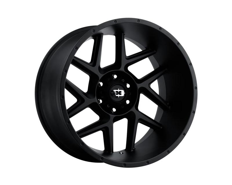 Vision Wheels 360-20273SB-51 Sliver Wheel 20x12 5x1270x51 BKMTXX Satin Black
