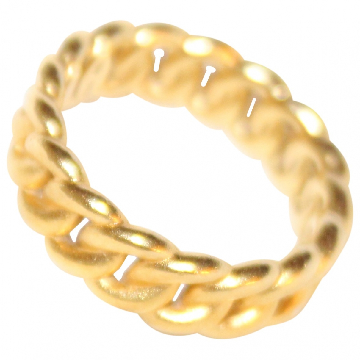 Non Signé / Unsigned \N Gold Gold plated ring for Women \N