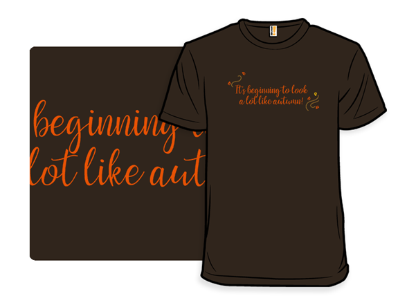 Ready For Autumn T Shirt