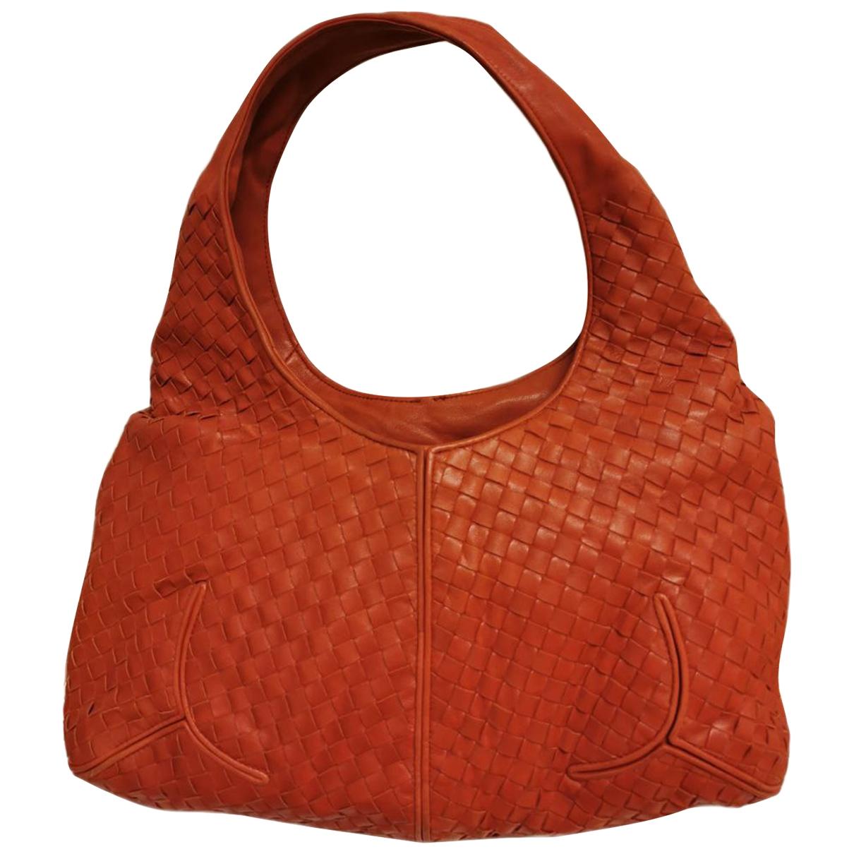 Bottega Veneta \N Orange Leather handbag for Women \N
