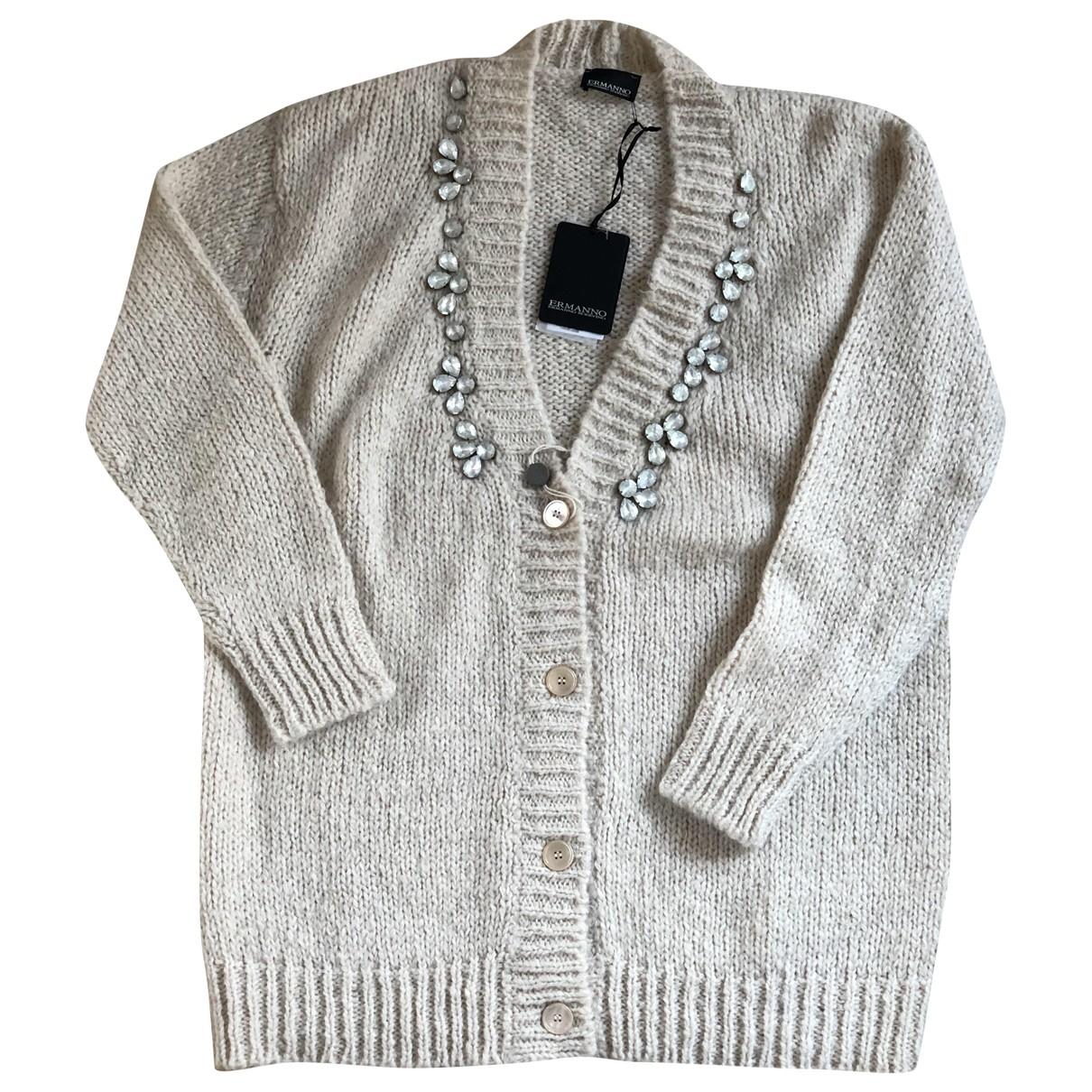 Ermanno Scervino \N Beige Wool Knitwear for Women 42 IT