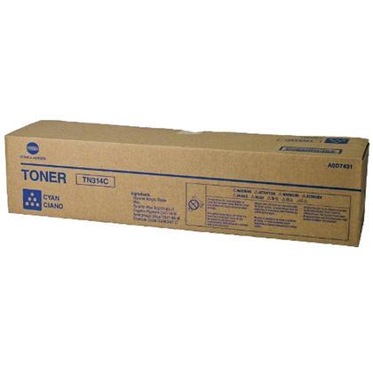Konica Minolta TN314C A0D7431 Original Cyan Toner Cartridge