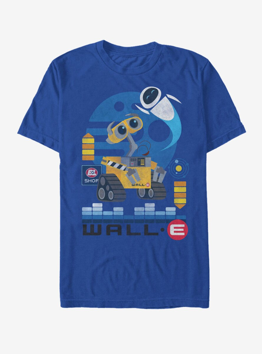 Disney Pixar Wall-E Eve Flight T-Shirt