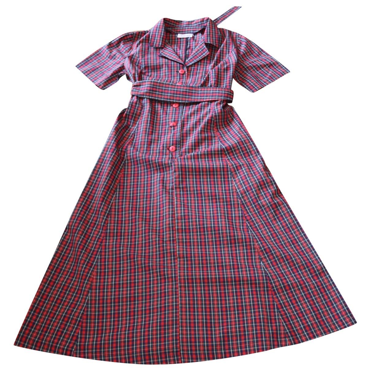 Melissa \N Red Cotton dress for Women 40 FR
