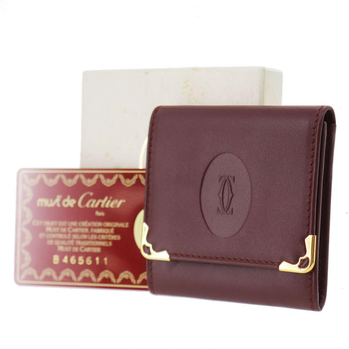 Cartier \N Leather wallet for Women \N