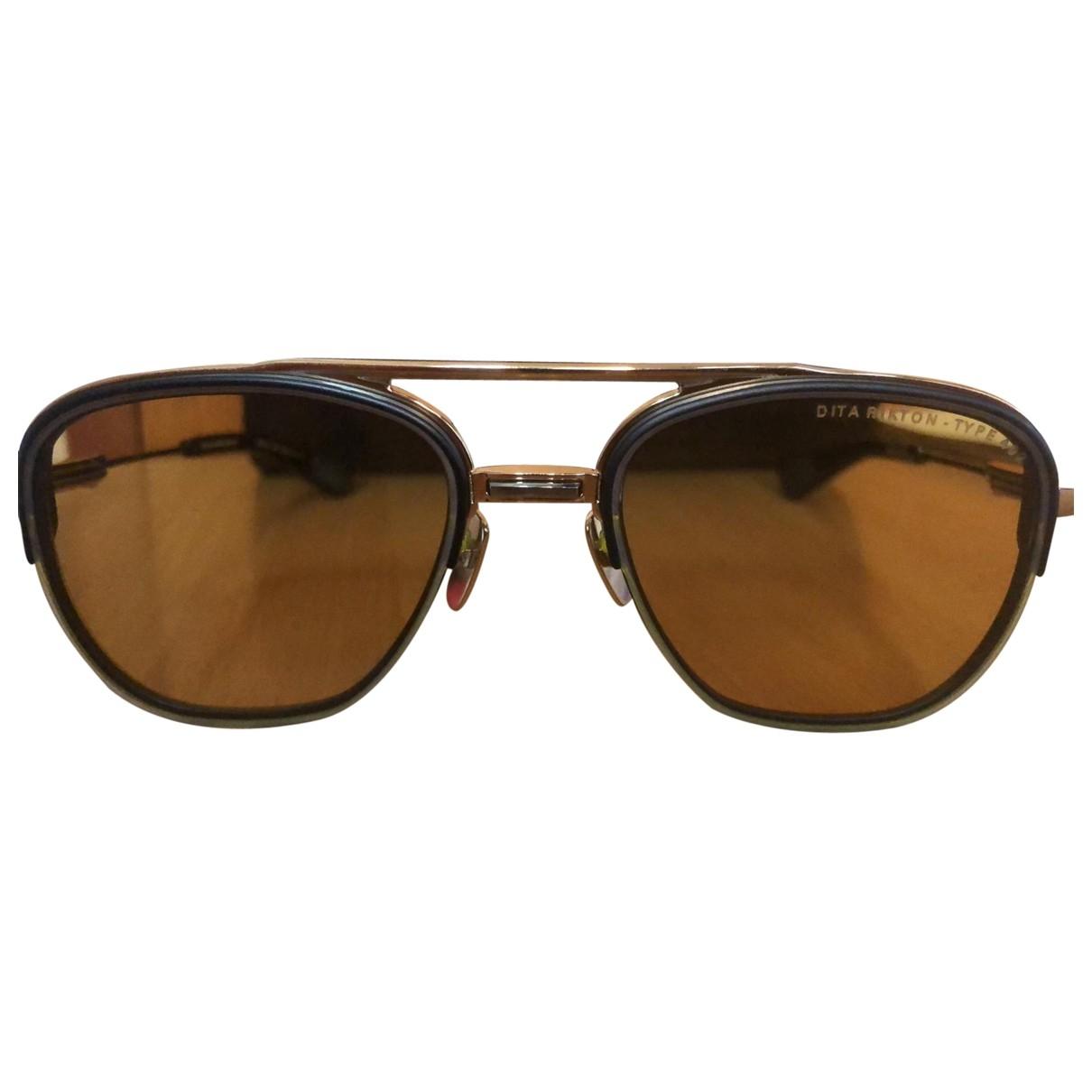 Dita \N Metal Sunglasses for Men \N