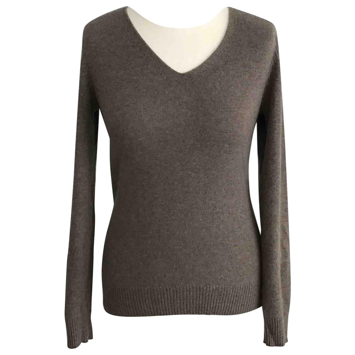 John Lewis \N Brown Cashmere Knitwear for Women 8 UK