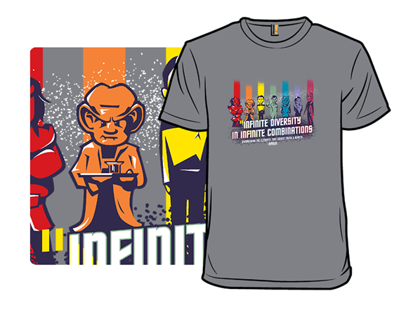 Infinite Diversity In Infinite Combinations T Shirt
