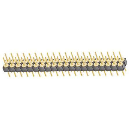 Samtec , TD, 40 Way, 2 Row, Straight Pin Header