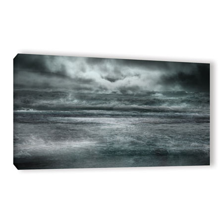 Brushstone Maelstrom Gallery Wrapped Canvas Wall Art, One Size , Black