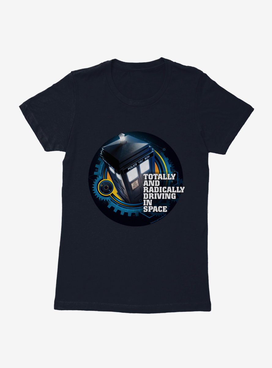 Doctor Who TARDIS Twelfth Doctor Version Womens T-Shirt
