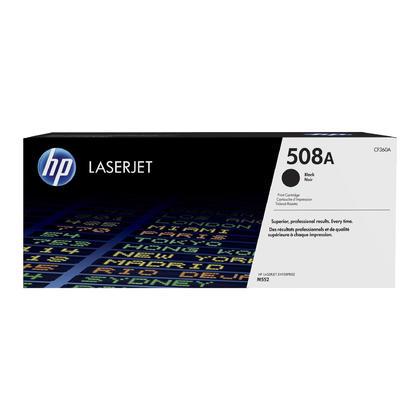 HP 508A CF360A cartouche de toner originale noire