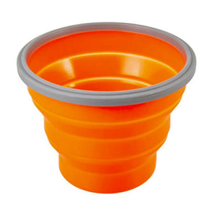 We Remain Open Camping 24oz.Collapsible Bowl