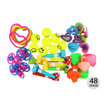 Assorted Party Favor Value Pack Pinata Toy Mix Pack 48Pcs - LIVINGbasics™