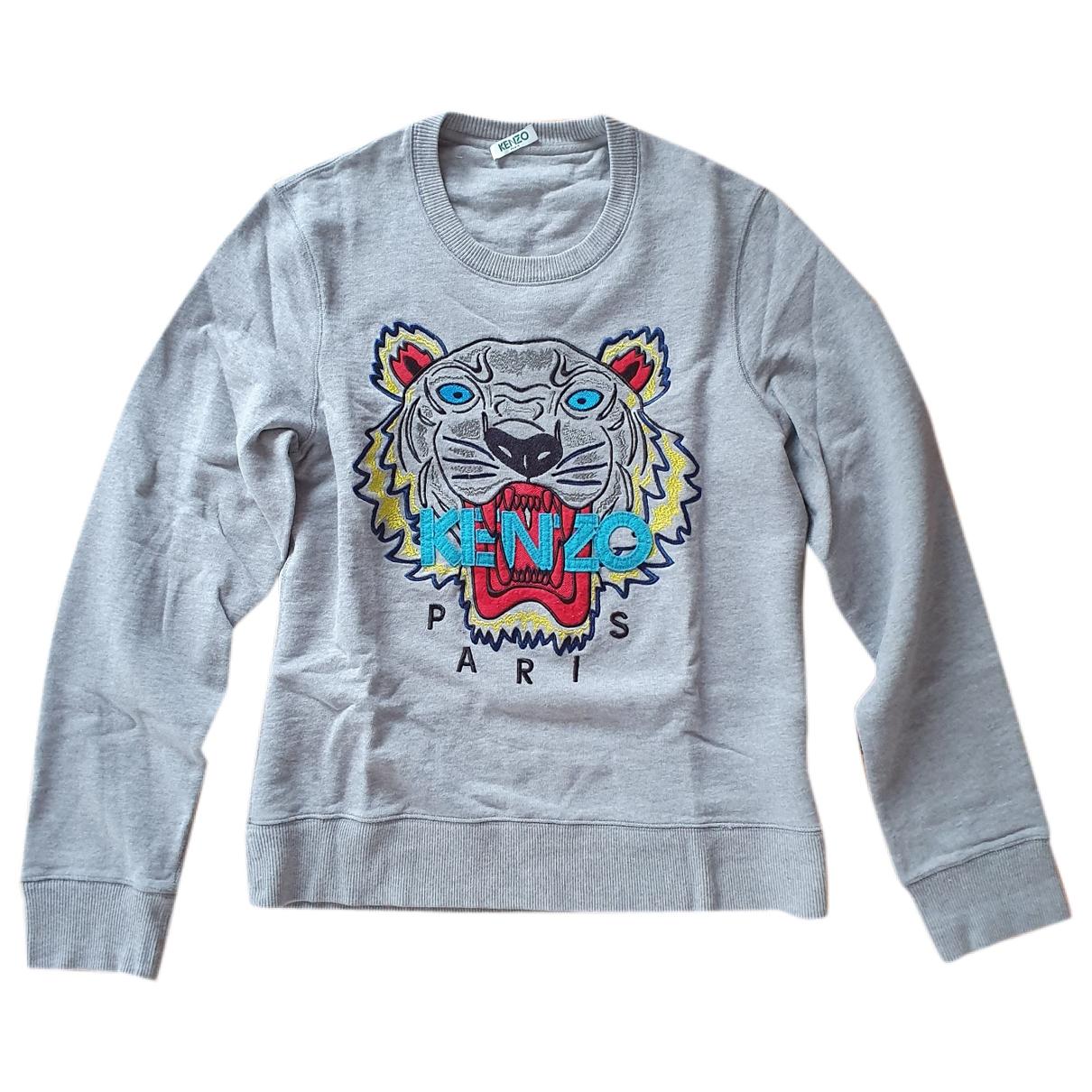 Kenzo \N Grey Cotton Knitwear for Women 34 FR