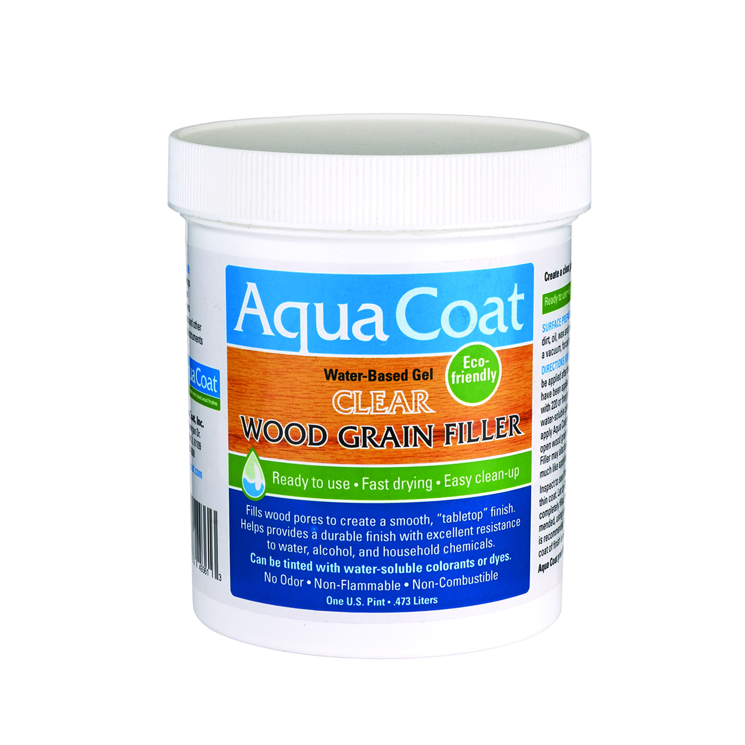 Clear Water Based Wood Grain Filler Pint
