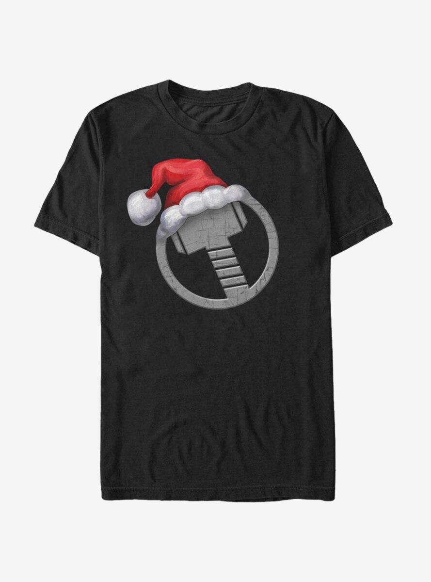 Marvel Thor Icon Holiday Hat T-Shirt