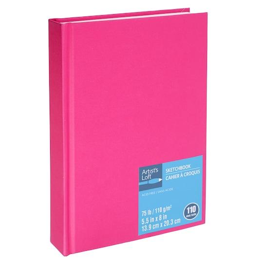Berry Hardbound Sketchbook By Artist's Loft™   Michaels®