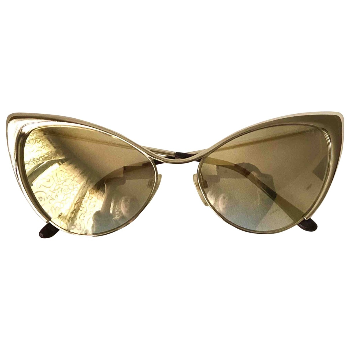 Tom Ford \N Gold Metal Sunglasses for Women \N