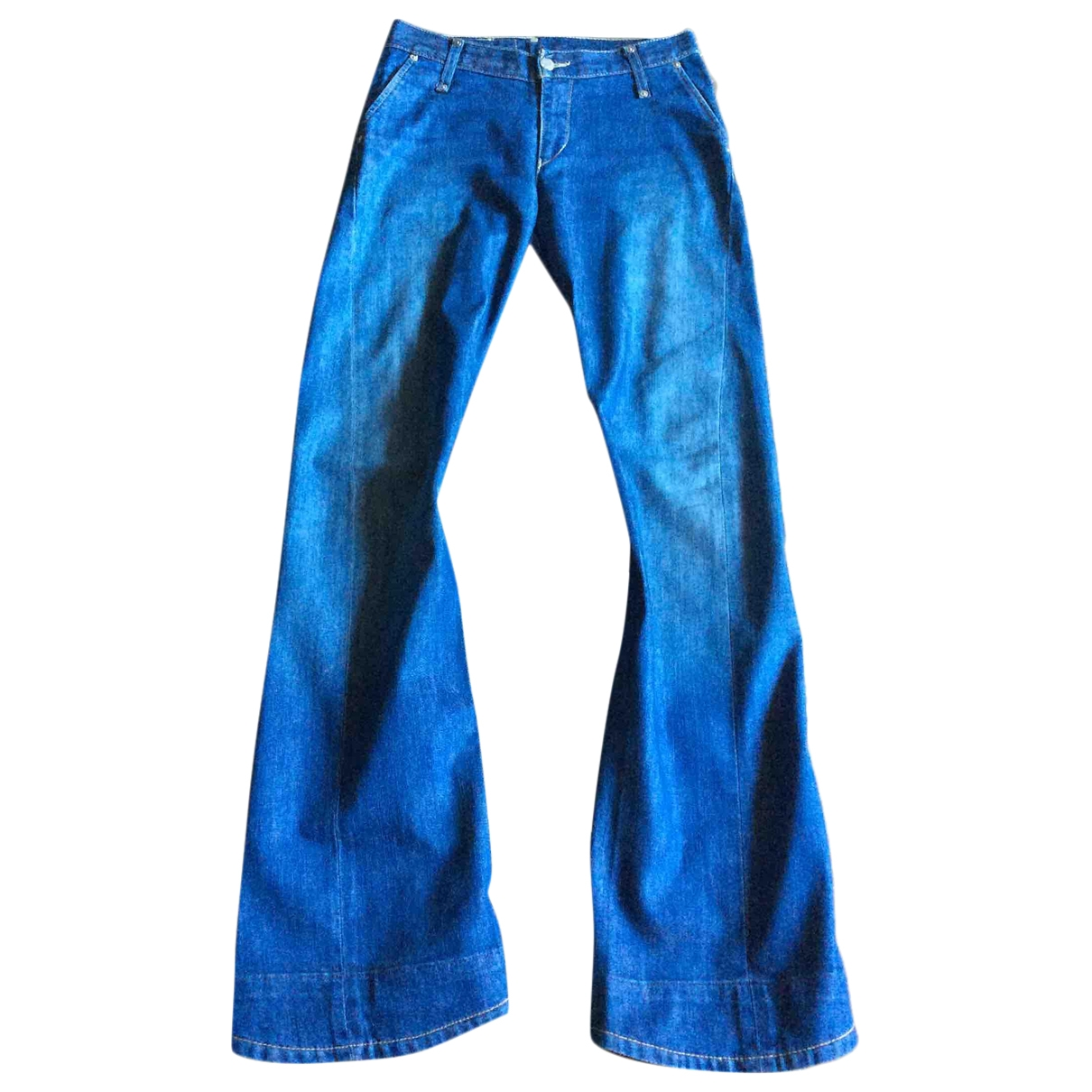 Levi's \N Blue Cotton - elasthane Jeans for Women 28 US