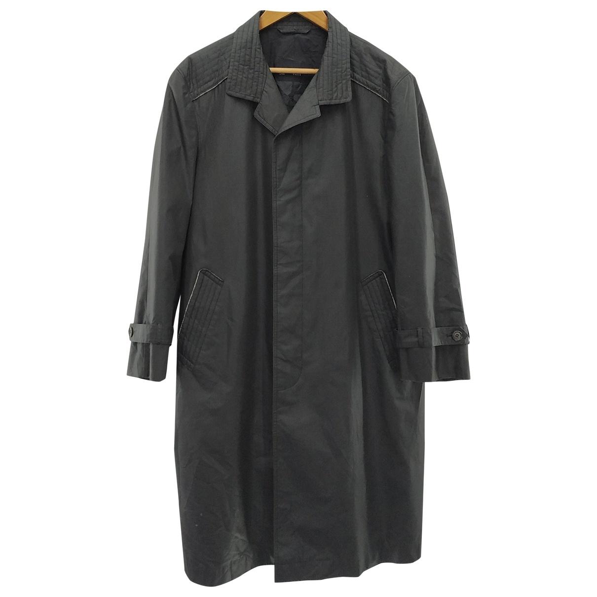 Lanvin \N Black coat  for Men L International