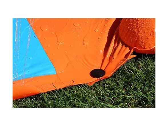 H2ogo! Triple Water Slide W/ Speed Ramp