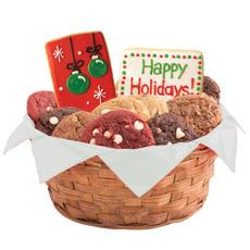 Merry Christmas Gluten Free Cookie Basket